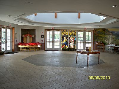 St Cyril's Narthex